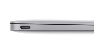 USB-C am MacBook, Bild: Apple