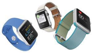 Apple Watch mit Nylon-Armband