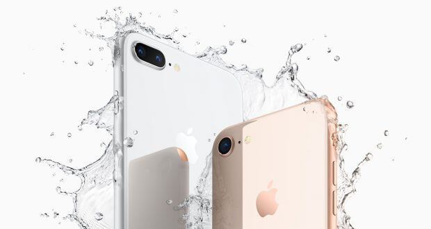 iPhone 8 und iPhone 8 Plus Rückseite